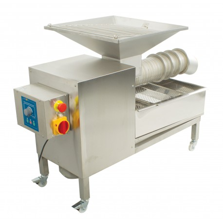 OPTION 2 - Uncapping extruder 100 kg/h for the uncapping table W901R, W902E, W902Z, W903E, W903Z