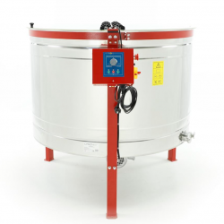 12-cassette DADANT honey extractor, Ø1200mm, electric drive, semi-automatic, CLASSIC