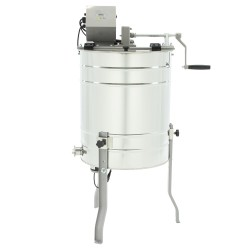 Tangential honey extractor, Ø500mm, 3-frame, manual+electric drive,OPTIMA