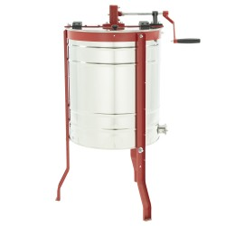 Tangential honey extractor, Ø500mm, 3-frame, manual drive, CLASSIC