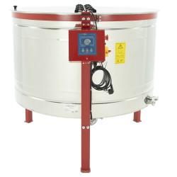 8-cassette DADANT honey extractor, Ø1200mm, electric drive, semi-automatic, CLASSIC