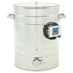 Stainless settlers with heated drum side wall, 70 L (95 kg)
