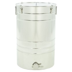 """Stainless steel settler 100 L with conical bottom  """"Premium line"""""""