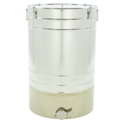 """Stainless steel settler 200 L with conical bottom  """"Premium line"""""""
