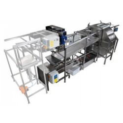 Automatic honey extraction line - basic version