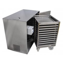 Stainless steel pollen dryer (for 30 kg of pollen)