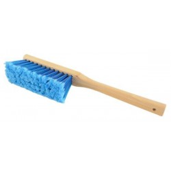 A brush for cleaning and removing snow - artificial bristles