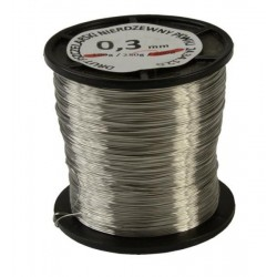 Wire 0,3 mm (250g), stainless