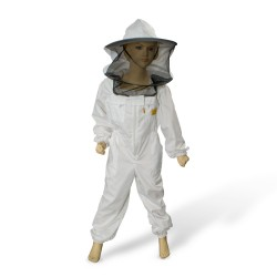 KIDS BEEKEEPING OVERALL WITH MESHED HAT