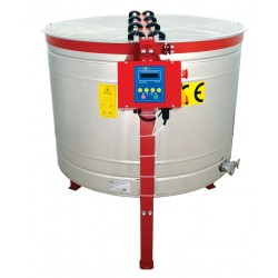 8-cassette LANGSTROTH honey extractor, Ø1000mm, electric drive, semi-automatic, CLASSIC