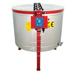 8-cassette DEUTSCH NORMAL honey extractor, Ø1000mm, electric drive, semi-automatic, CLASSIC