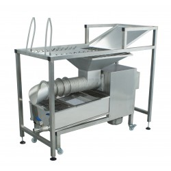 Manual uncapping table with capping extruder