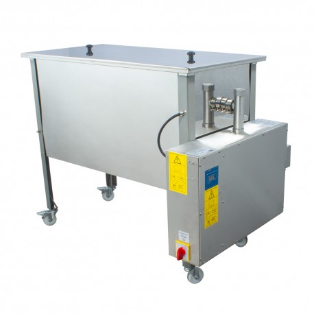 Steam wax melter and uncapping table in one - 1500 mm