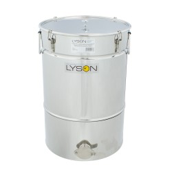 """Stainless steel settler 50 L with conical bottom  """"Premium line"""""""